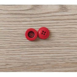 Bouton 12mm, rouge